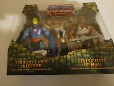 2015 MOTU Terror Claws Skeletor & Flying Fists He-Man MOTUC Classics 2 Pack