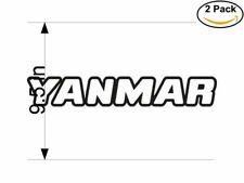 yanmar 2 Stickers 9.5 Inches Sticker Decal
