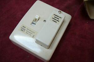 Vintage 30a Wylex 104 1 Way Fusebox 1 way Consumer Unit  104 30A  fuse box