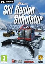 Ski Region Simulator (pour PC) Pistenbully (entièrement complet de nouveau)