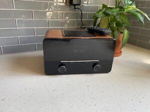 auna Connect 150 Walnut, Internet Radio, Wi-Fi Music Player, USB Port EUC