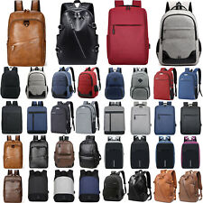 Womens Men Anti-Theft Waterproof Rucksack Bag Laptop School Business Backpack