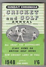 Sunday Chronicle - Cricket And Golf Annual 1948