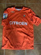 Celta De Vigo Match Worn Trashorras Umbro Shirt Camiseta Trikot Maglia