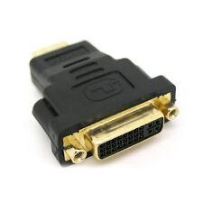 HDMI Male To DVI-D Female 24+5 DVI Converter Adapter For LCD Monitor HDTV DVD