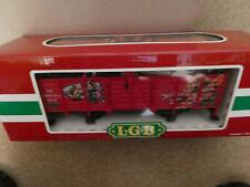 Lgb G Gauge 4021Ct The Christmas Train Gondola w/ Blue Present Box ~ Mib!