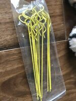[Pack of 10] 125mm Yellow Body Clips for RC Car 1/8 1/10 Scale Touring Saloon