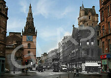 Old & New Pictures and Prints of Glasgow Trongate, Scotland