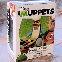 Disney The Muppets Swedish Chef Deluxe Action Figure Set by Diamond Select NIB