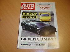 Auto hebdo N°800 Diablo/Cizeta V16 T.