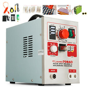 709AD 3 in 1 Punktschweißgerät 3.2KW Battery Spot Welder Batterie Punktschweißen