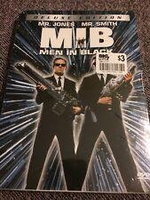Men In Black MIB (DVD, 2002, 2-Disc Set, Deluxe Edition) NEW SEALED Jones Smith