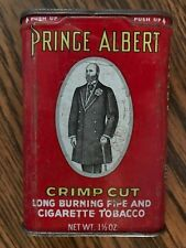 Prince Albert Crimp Cut Pipe and Tobacco Tin