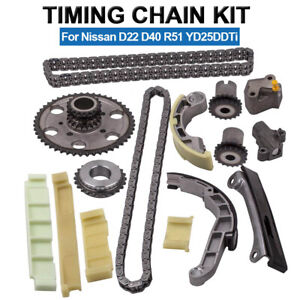 Timing Chain Kit For Nissan Navara D22 D40 Pathfinder R51 YD25DDTi /DCi 4CYL 06-