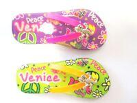 Venice Ornament 2er Set Photo Magnet Epoxy Sandals Lizard Italy