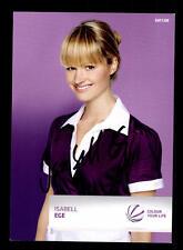 Isabell Ege SAT 1  Autogrammkarte Original Signiert # BC 102614