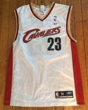 Vintage Reebox Cleveland Cavaliers Lebron James Basketball Jersey NBA Size M