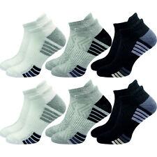 6 Paar Sport Sneaker Socken mit einer leicht gepolsterten Sohle