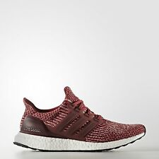 Adidas Ultra Boost 3.0 Burgundy 12 UK Mystery Red Mens Trainers Running BA8845
