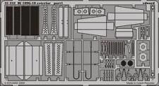 Eduard 1/32 Messerschmitt Bf 109G-10 Exterior Para Hasegawa # 32232