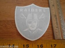 "Los Angeles Raiders football VINTAGE 1980s sticker 3.5"" Nissan"