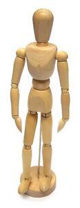 Wooden Manikin Man Mannequin Figure Artist Sketching Sketch Drawing Model