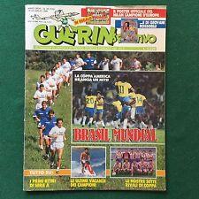 GUERIN SPORTIVO n.29/1989 BRASIL MUNDIAL COPPE EUROPEE