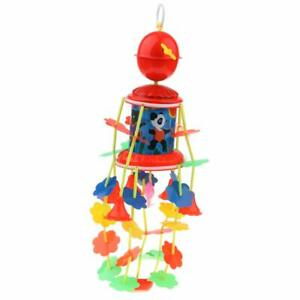 Newborn Baby Merry Go Round 360 Rotate Musical Wind Up Bed Bell Toy Nursery