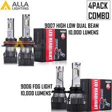 Combo LED 9007 Headlight High Low Beam 9006 Fog Light Bulb Lamp for Dodge Ram