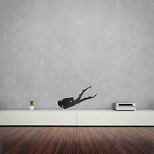 Scuba Diver Vinyl Wall Art Decal for Home Decor / Interior Design / Bedroom /...