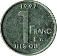 COIN / BELGIUM / 1 FRANC 1997   #WT89