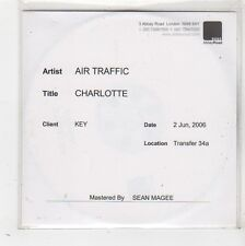 (FW654) Air Traffic, Charlotte - 2006 DJ CD