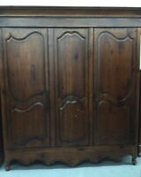 Habersham Plantation French Provincial Armoire Wardrobe Heirloom 7' Tall SOLID
