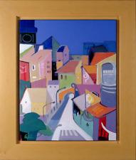 """Ali Golkar - """"The Heart Of It All"""",  Acrylic on Canvas, Framed"""