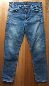 Citizens Of Humanity Ladies Rocket Crop High Rise Skinny Blue Stretch Jean W31