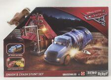 Disney Pixar Cars 3 Smash & Crash Stunt Set Demo Derby