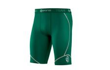 Authentic Skins Dnamic Team Mens Compression Half Tights (dark Green) Dark Green M