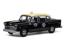 1:18 SUNSTAR 1981 Checker A11 Negro Cab Taxi