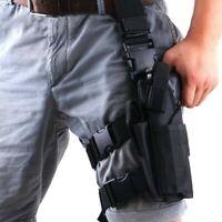 Left Hand Drop Leg Holster Gun Thigh Holster Universal Tactical Bag Airsoft