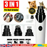Pet Dog Cat Nail Claw Grooming Grinder Trimmer Clipper Electric Nail File Tool