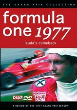 Formula One 1977 Review - Lauda's Comeback (New DVD) F1 Nik Jody Scheckter