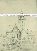 Niederrotweil am Kaiserstuhl - Nach einer historischen Zeichnung  - um 1930