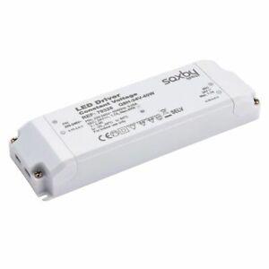SAXBY White LED Constant Voltage Driver Transformer 20W /40W/75W/150W 24V IP20