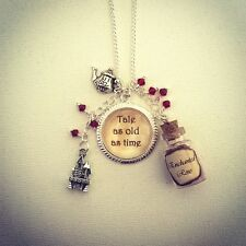 Beauty And The Beast Necklace-Jewellery-Christmas Stocking Filler