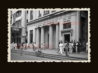 40's Asia Life building Queen's Road Central Vintage Hong Kong Photo 香港旧照片 #1983
