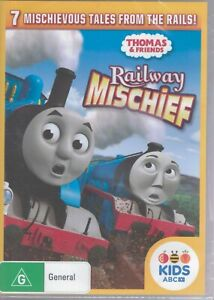 RAILWAY MISCHIEF A Thomas The Tank Engine & Friends DVD - 7 Tales From The Rails