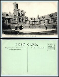 UK Postcard - Winchester, The College, Chamber Court AX