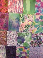 16 SHEET TASTER PACK WILD FLOWER 6 x 6 CARD MAKING SCRAPBOOKING CRAFT PAPER