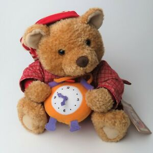 "Crayola Hallmark Storybook Friends BENSON BEAR 11"" Plush Stuffed w/Tags"