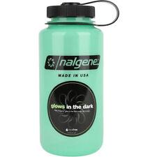 Nalgene Tritan Boca Ancha Glow 32 Oz. Botella De Agua-Verde
